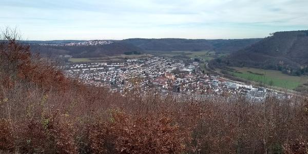 Viewpoint overlooking Oberkochen
