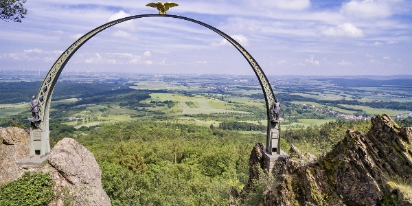 Adlerbogen am Moltkefels