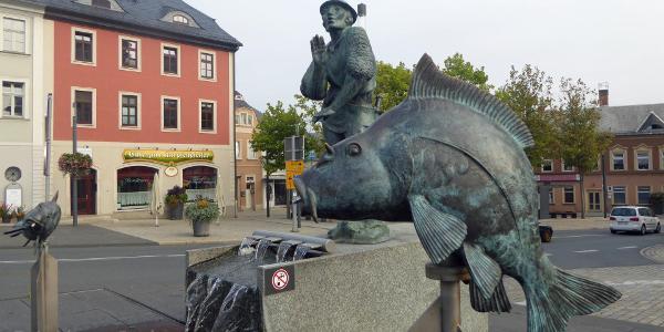 Zeulenroda - Karpfenbrunnen