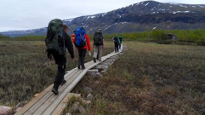 Hike to Kebnekaise