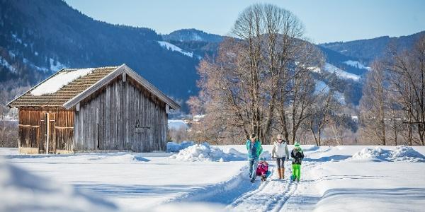 Winterwandern mit der ganzen Familie