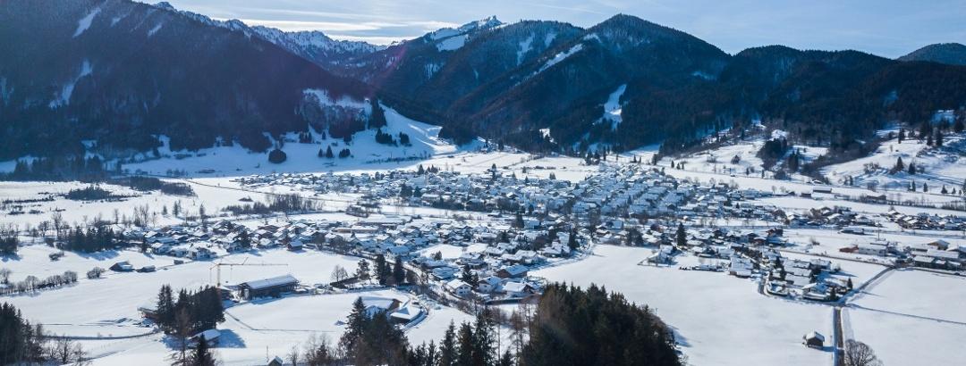 Unterammergau im Naturpark Ammergauer Alpen