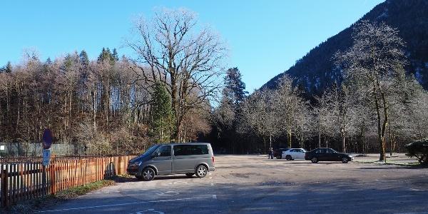 Parkplatz Vord. Langbathsee ~665m