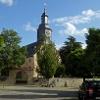 An der Laurentiuskirche von Trebur