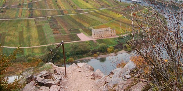 Aussicht auf Klosterruine Stuben