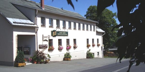 Außenansicht Gasthof & Pension Bergschlösschen