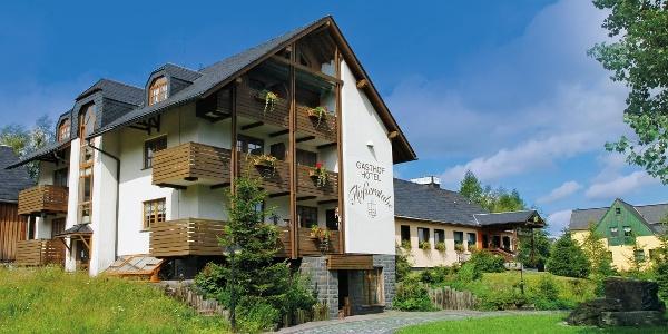 Außenansicht Hotel und Gasthof Flößerstube