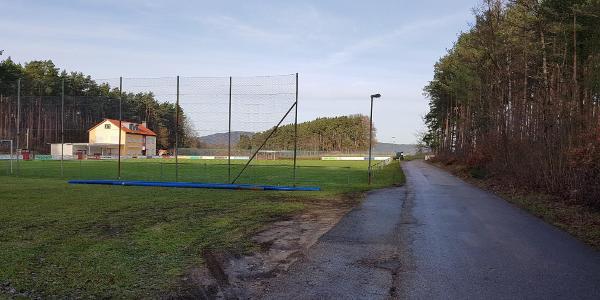 Ziel in Weißenbrunn