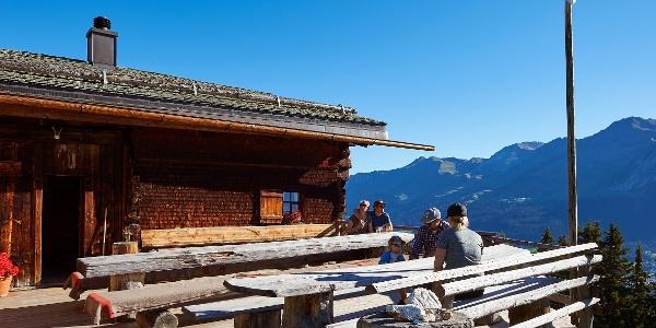 Wandern Alp Fops