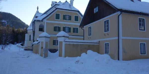 Ausgangspunkt Schloss Brandhof
