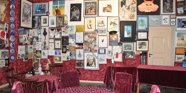 Katzencafé im Rittergut Bösenbrunn