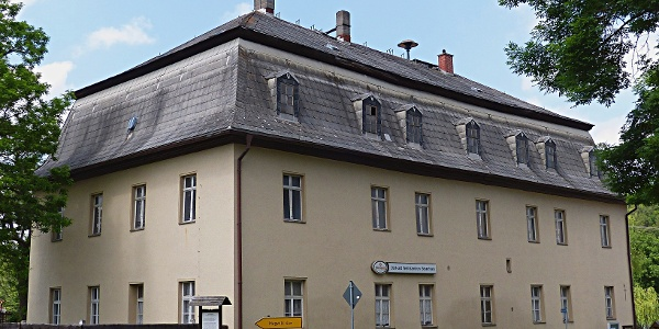 Herrenhaus des ehemaligen Rittergutes in Bösenbrunn