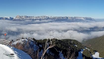 Vue du sommet de la randonnée