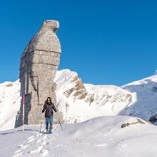 Schneeschuhlaufen Simplonpass