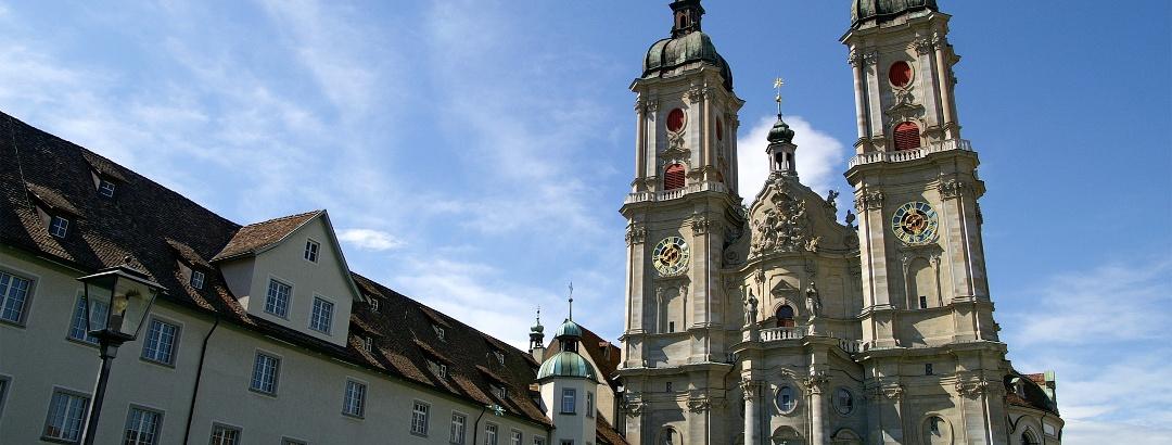 Kathedrale und Stiftsbezirk St. Gallen.