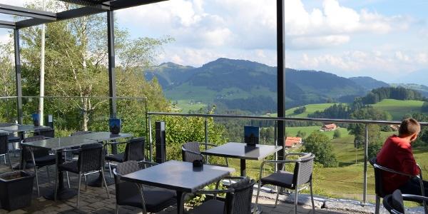 Panorama Ausblick vom Restaurant