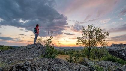 Nyári este a Szélmarta-sziklákon