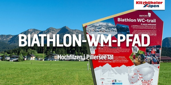 Biathlon-WM-Pfad in Hochfilzen