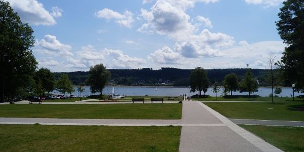 Der Seepark am Möhnesee