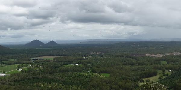 Rundumsicht von Mount Ngungun