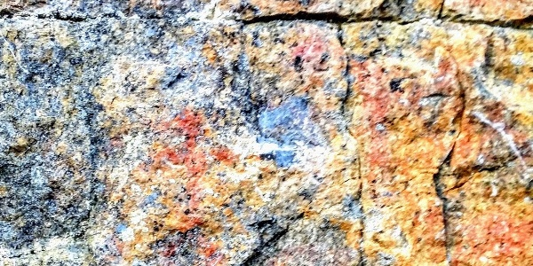 Toussunlinna rock painting in Southern Konnevesi National Park