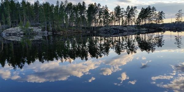 Lake views in Southern Konnevesi National Park