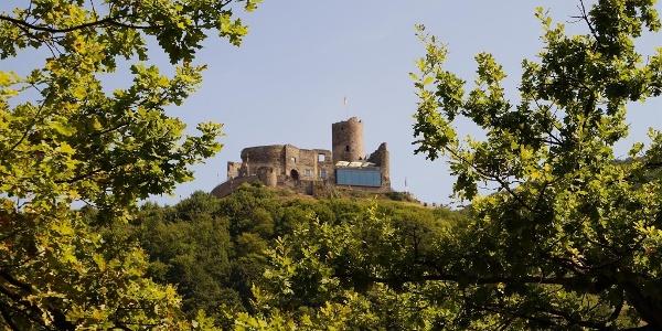 Burg Landshut hoch über Bernkastel-Kues