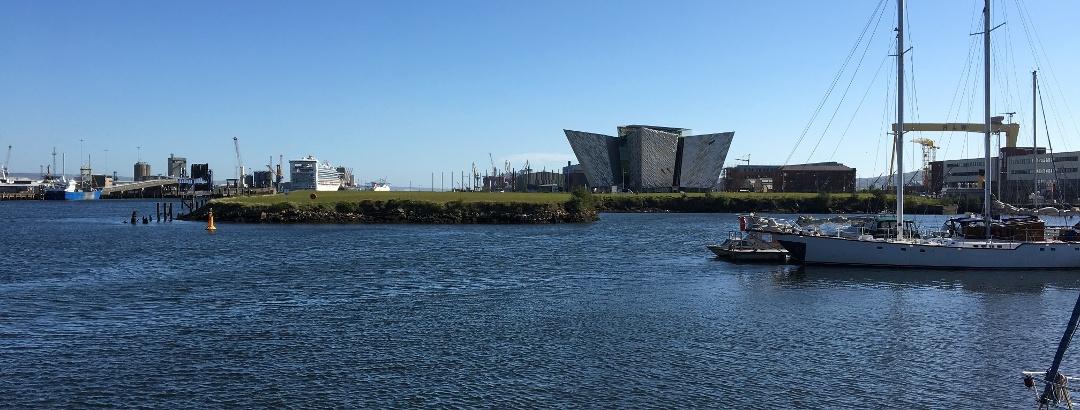 Der Hafen von Belfast