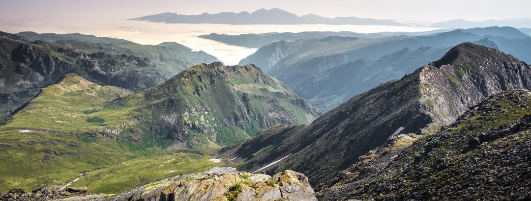 Berglandschaft in Andorra