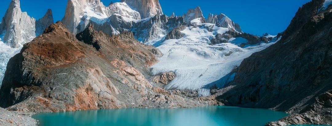 Das Fitzroy-Massiv in Patagonien
