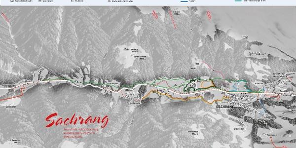 Loipenplan Sachrang