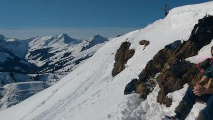 Felsen rechts vor Gipfel