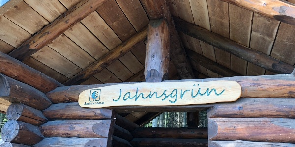 Wanderschutzhütte Jahnsgrün