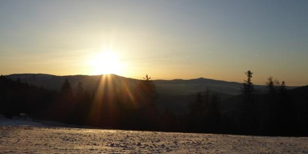 Sonnenaufgang am Brennes