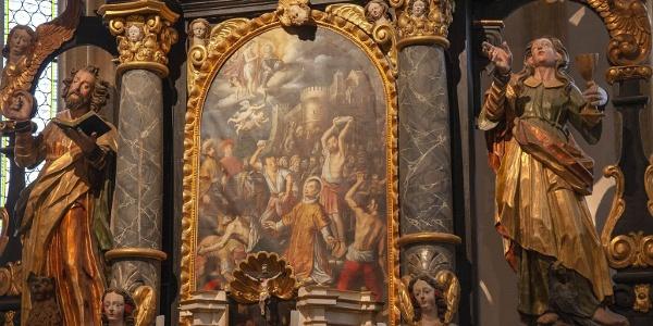 Altarbild Kirche St.Stefan