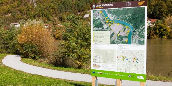 Savus Educational Hiking Trail