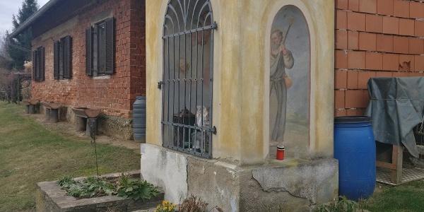 Kapelle mit Jkobusdarstellung