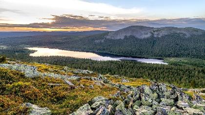 Fjells in Lappland