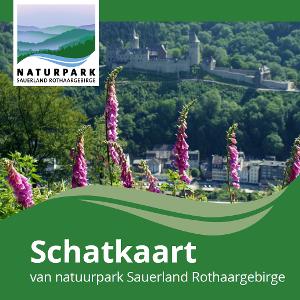 Schatzkarte des Naturparks Sauerland-Rothaargebirge NL