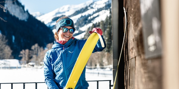 Skitourenparadies Oberlandhütte