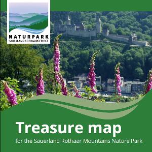 Schatzkarte des Naturparks Sauerland-Rothaargebirge GB