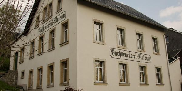 Buchdruckereimuseum Außenansicht