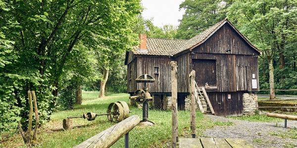 Die Alte Schneidmühle am Hochofen in Stadtsteinach