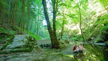 Wandern auf der Traumschleife Ehrbachklamm