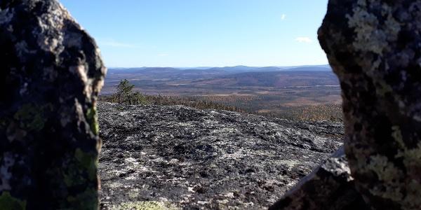 Top of Karhutunturi, Naruska, Salla