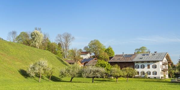Bauernhof in Wegscheid im Sommer