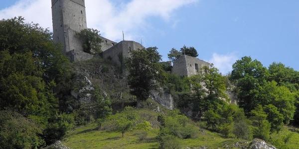 Burgruine Randeck in Essing im Altmühltal