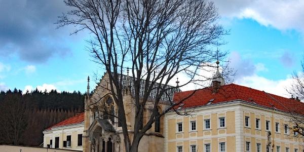 Jagdschloss Mayerling wo Kronprinz Rudolf den Tod fand