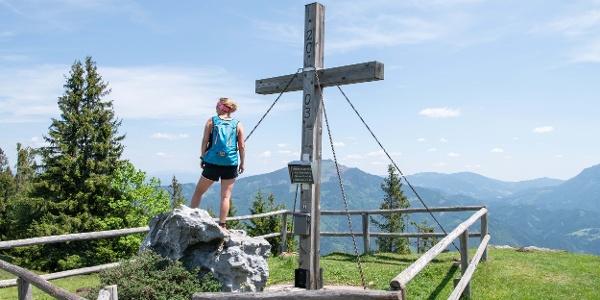 Gipfelkreuz Brucker Hochanger