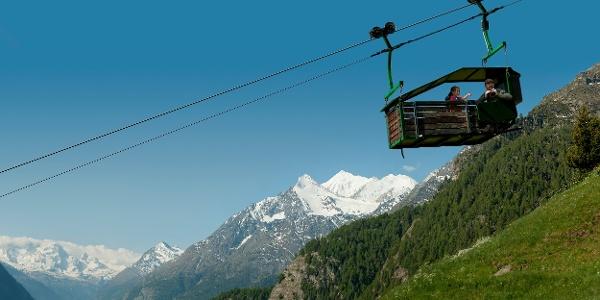Erlebnisluftseilbahn Embd-Schalg